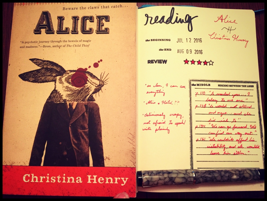 Book Review - Alice